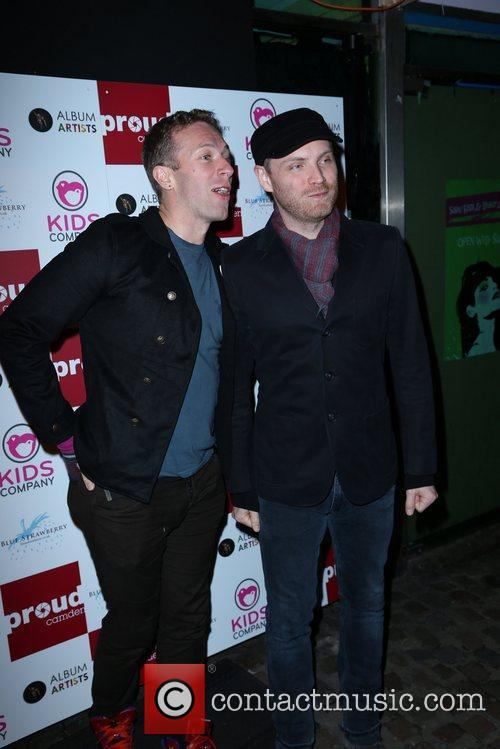 Coldplay attend a party to celebrate the launch...
