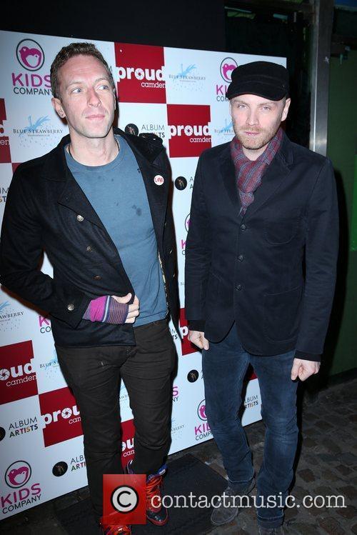 Chris Martin, Jonny Buckland and Coldplay 3