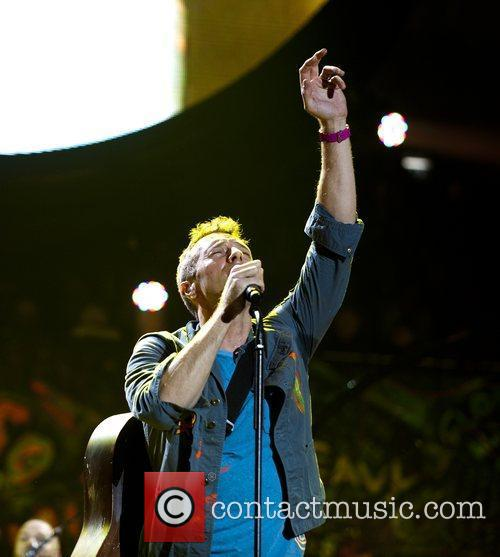 Chris Martin and O2 Arena 3