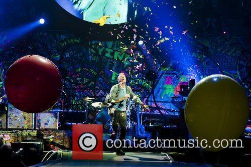 Chris Martin and O2 Arena 14