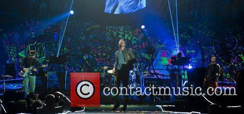 Chris Martin and O2 Arena 20