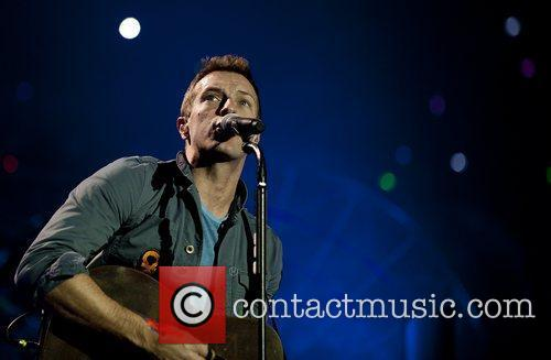 Chris Martin and O2 Arena 10