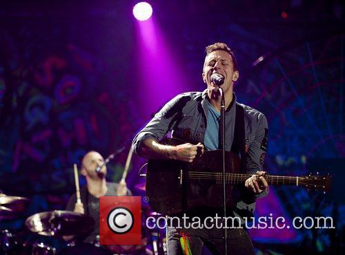 Chris Martin and O2 Arena 5