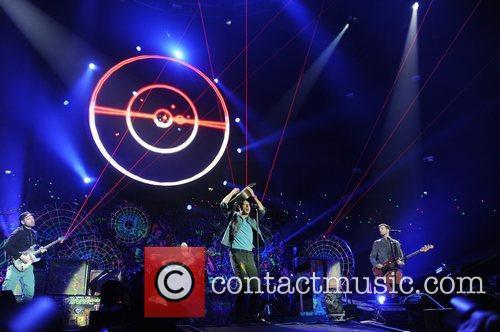 Chris Martin and O2 Arena 27