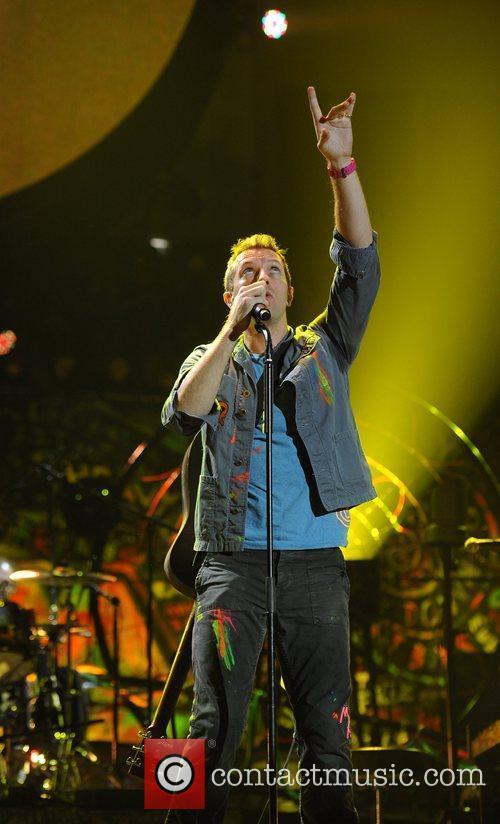 Chris Martin and O2 Arena 28