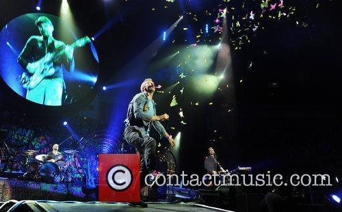 Chris Martin and O2 Arena 35