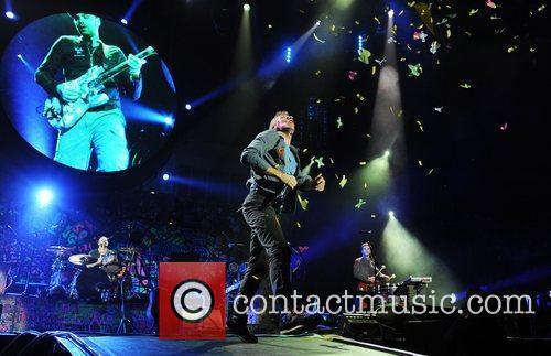 Chris Martin and O2 Arena 36