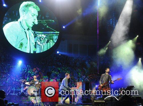 Chris Martin and O2 Arena 34