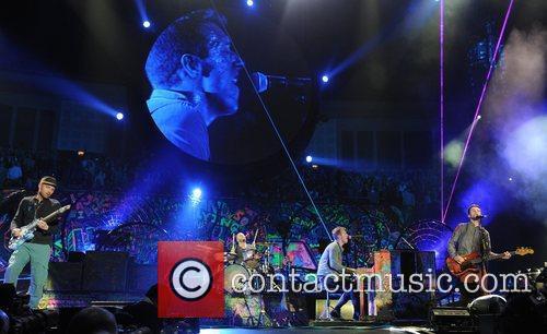 Chris Martin and O2 Arena 39