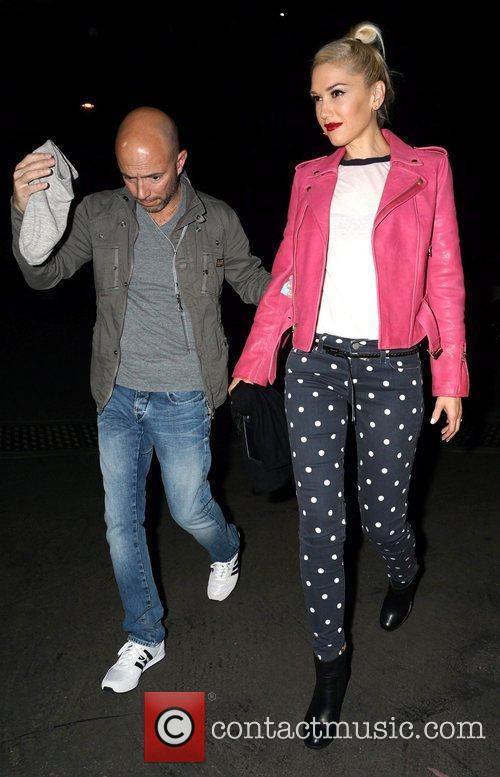 Gwen Stefani Celebrities arrive at The Hollywood Bowl...