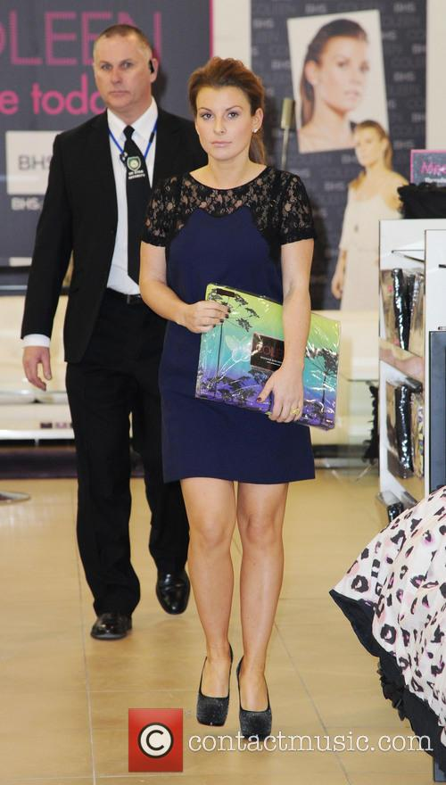 Coleen Rooney, British Home Stores, Trafford Centre and Manchester 10