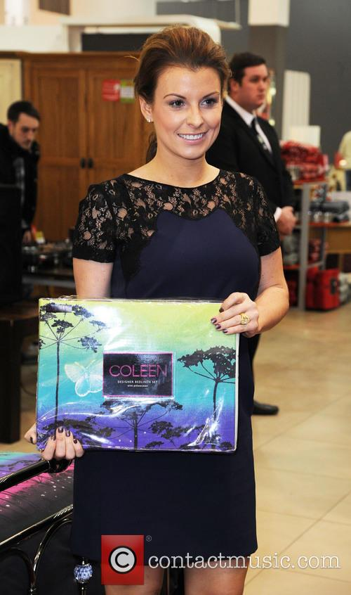 Coleen Rooney, British Home Stores, Trafford Centre and Manchester 15
