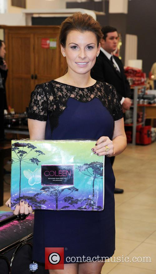 Coleen Rooney, British Home Stores, Trafford Centre and Manchester 18