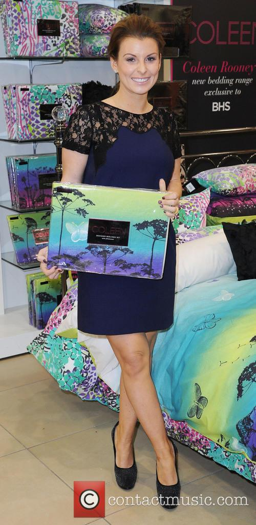 Coleen Rooney, British Home Stores, Trafford Centre and Manchester 13