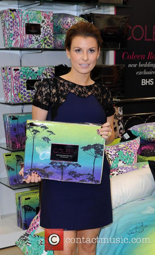 Coleen Rooney, British Home Stores, Trafford Centre and Manchester 16