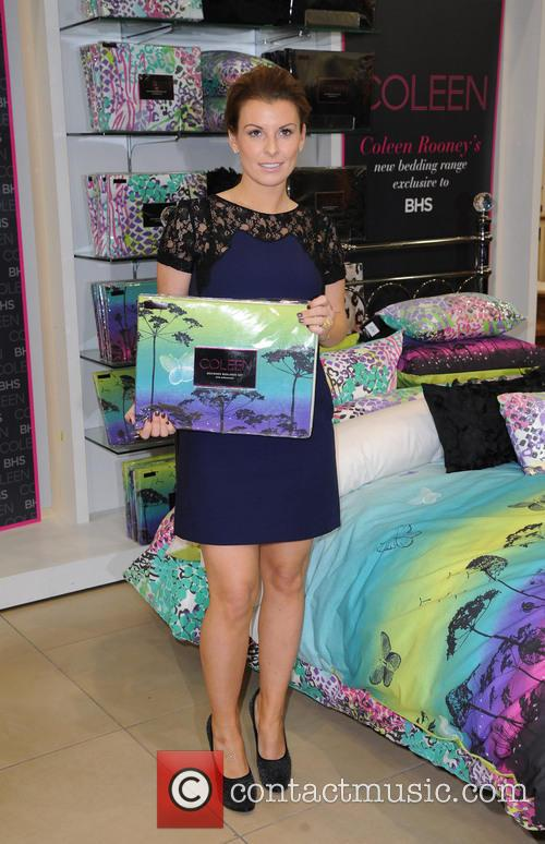 Coleen Rooney, British Home Stores, Trafford Centre and Manchester 3