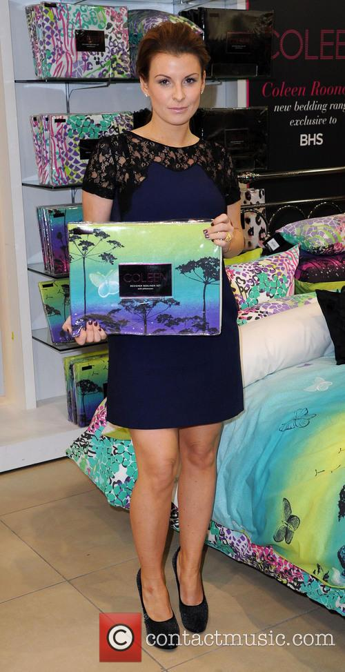 Coleen Rooney, British Home Stores, Trafford Centre and Manchester 4