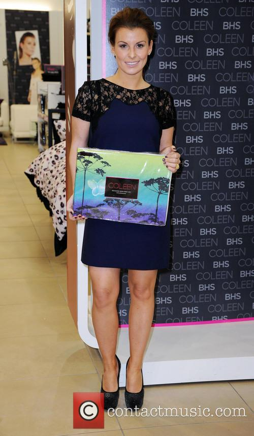 Coleen Rooney, British Home Stores, Trafford Centre, Manchester