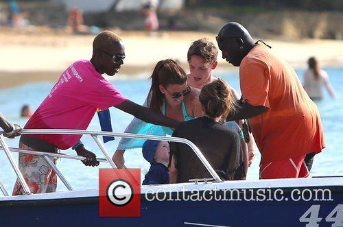 Pregnant Coleen Rooney, Anthony McLoughlin and Kai take...