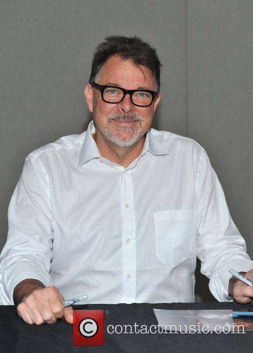 Jonathan Frakes The Entertainment Media Show/Collectormania London held...