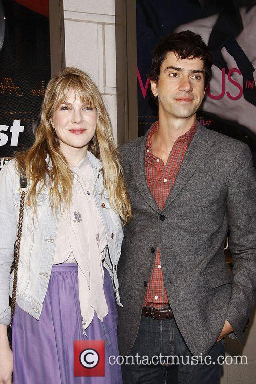 Lily Rabe and Hamish Linklater  Opening night...