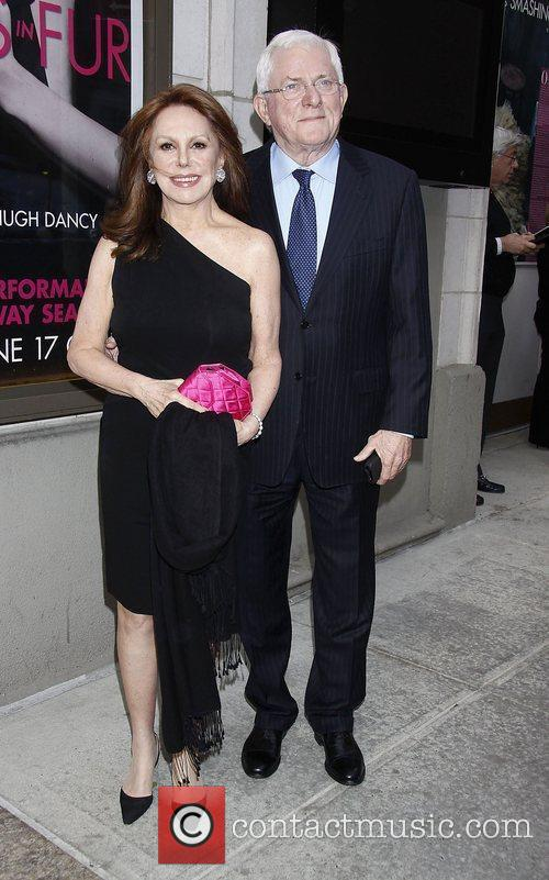marlo thomas and phil donahue opening night 3847526