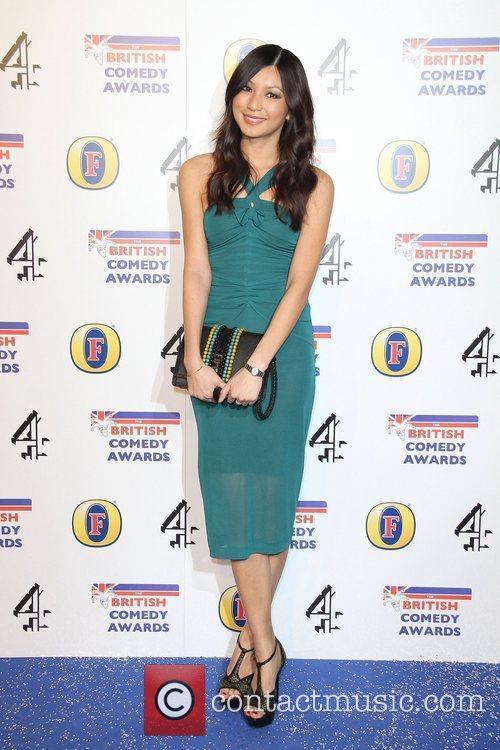 Gemma Chan British Comedy Awards held at the...