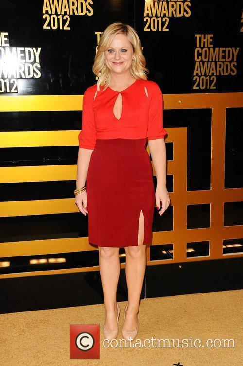 Amy Poehler The Comedy Awards 2012 at Hammerstein...