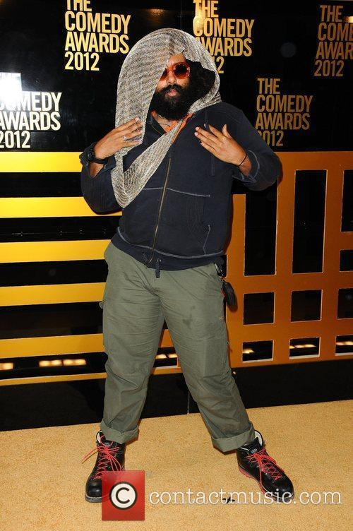 Reggie Watts  The Comedy Awards 2012 at...