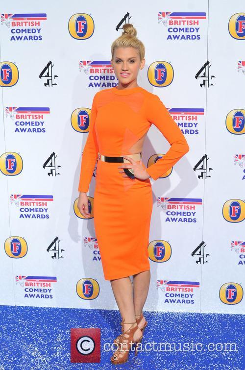 Ashley Robert The British Comedy Awards 2012 held...