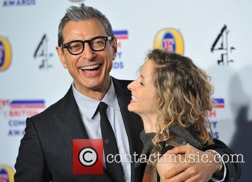 Jeff Goldblum British Comedy Awards held at the...