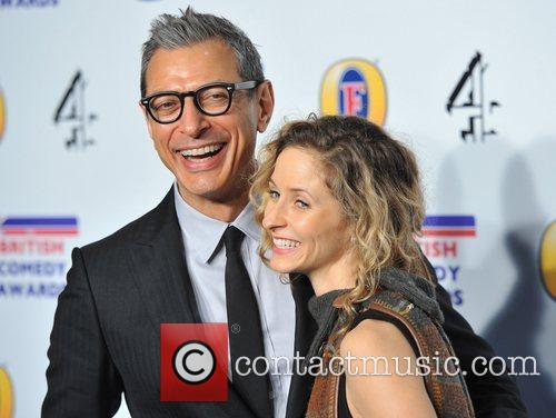jeff goldblum british comedy awards held at 5770807