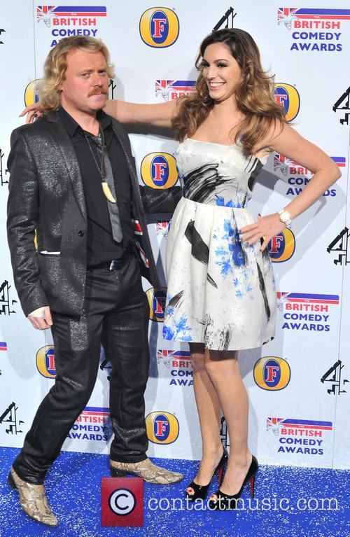 Kelly Brook and Leigh Francis The British Comedy...