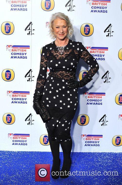 Helen Mirren British Comedy Awards held at the...
