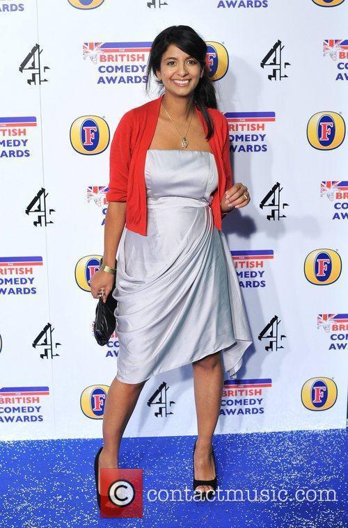 Konnie Huq British Comedy Awards held at the...
