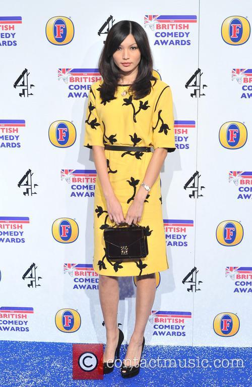 Gemma Chan The British Comedy Awards 2012 held...