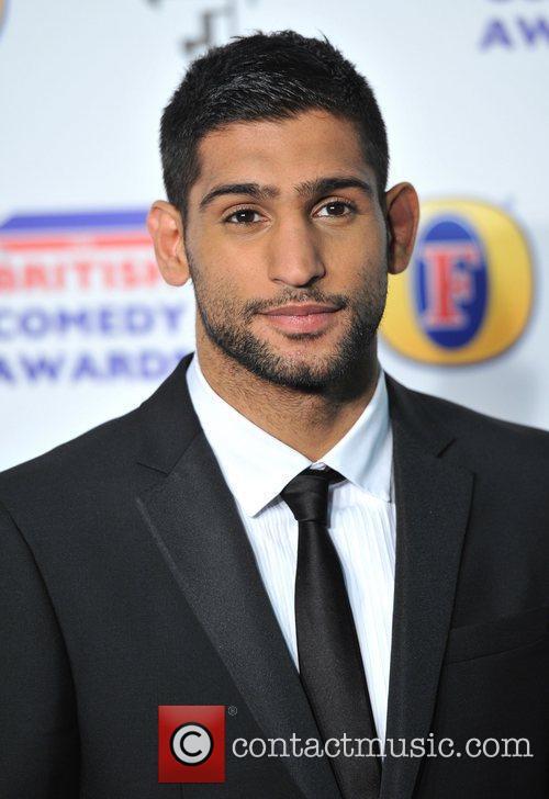 Amir Khan British Comedy Awards held at the...
