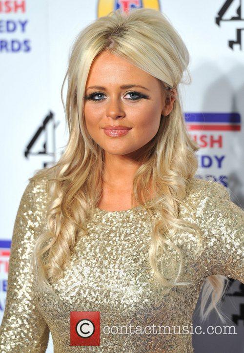 Emily Atack British Comedy Awards held at the...