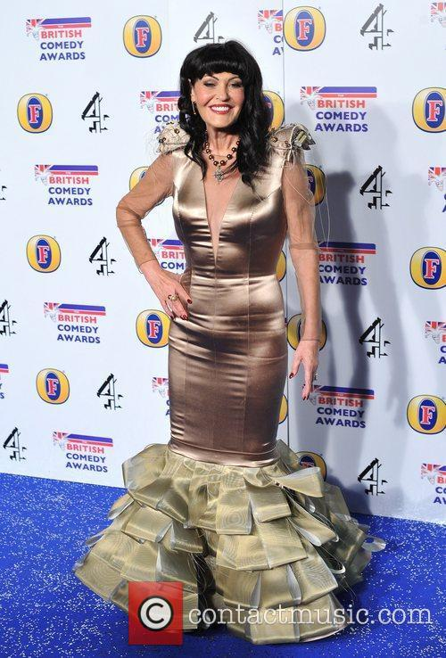 Hilary Devey British Comedy Awards held at the...