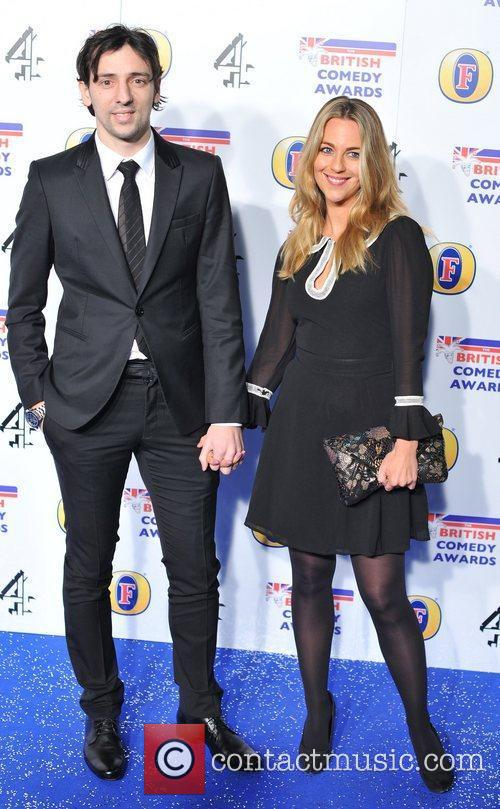 Lady Victoria Hervey and guest British Comedy Awards...