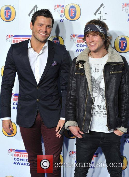 Mark Wright and Dougie Poynter 1