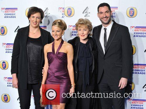Miranda Hart and  British Comedy Awards held...