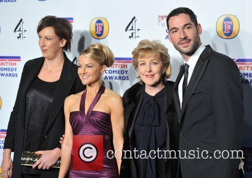 Miranda Hart and guests British Comedy Awards held...