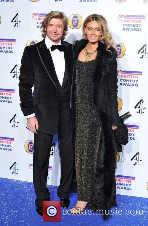 Nicky Clarke and guest British Comedy Awards held...