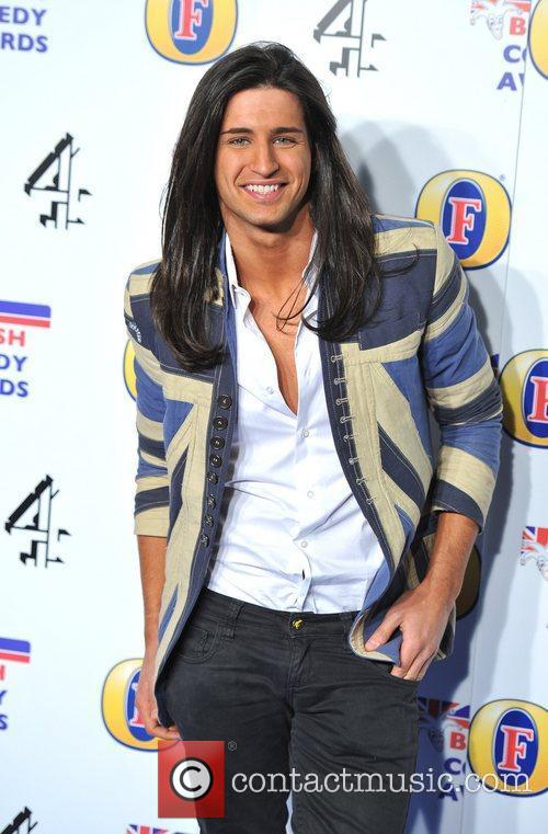 Ollie Locke British Comedy Awards held at the...