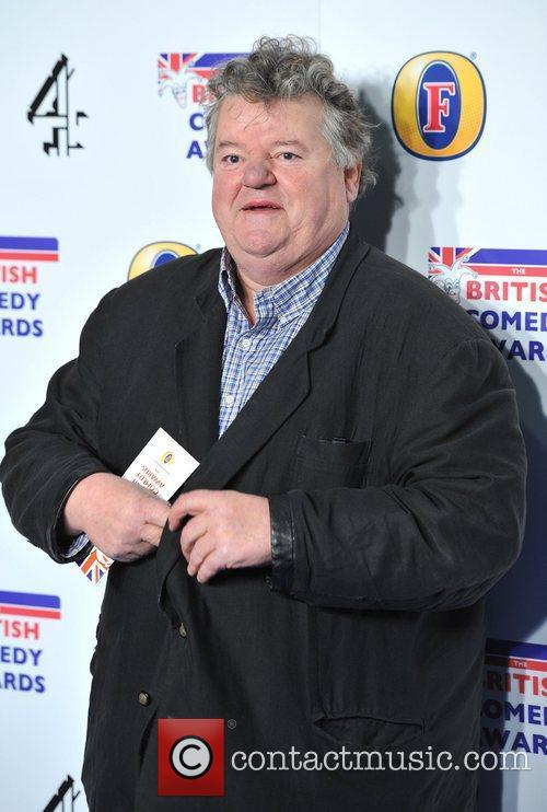 Robbie Coltrane British Comedy Awards held at the...