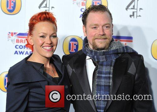 Rufus Hound and guest British Comedy Awards held...