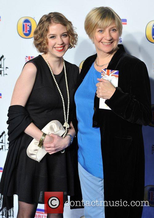Sarah Millican and guest British Comedy Awards held...