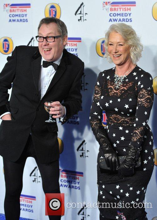 Vic Reeves and Helen Mirren 4