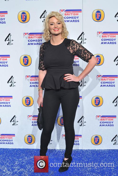 Morgana Robinson The British Comedy Awards 2012 held...